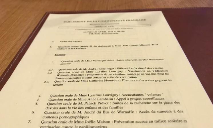 Prévention et Santé - Commission Enfance FWB